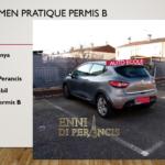 Ujian SIM PERANCIS: Examen Pratique Permis B